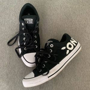 Converse Logo Low Tops